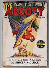 ARGOSY (10/2/1937) SINCLAIR GLUCK, CHARLES GREEN