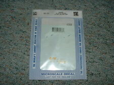 Microscale decals N 60-38 40' 50' Boxcars CP D and H L and N PPR SSW  C39