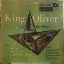 "King Oliver Plays The Blues 10"" LP - EX/EX+ RARE Original US Riverside Pressing"