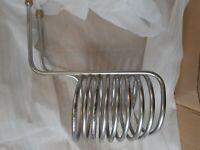 Wärmetauscher, Acero Inox Calentador de Estanque, Espiral Calefactor Refrigerar