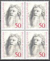 813 postfrisch 4 er Block BRD Bund Deutschland Briefmarke Jahrgang 1974
