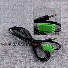 1x 3.5mm MP3 Aux In Audio Radio Adapter Kabel Jack Für 05-11 Renault Clio Megane