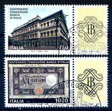 REPUBBLICA 1993 - BANCA D'ITALIA CON BANDELLE  SERIE USATA