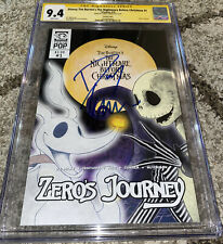 Disney The Nightmare Before Christmas Variant SS CGC 9.4 Signed Danny Elfman NM