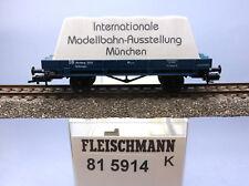 """Fleischmann 81 5914; Gerätewagen DB """"IMOBA 2001"""", ungelaufen in OVP /D601"""