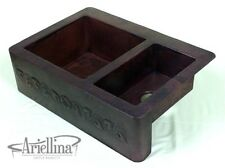"36"" Ariellina Farmhouse 14 Gauge Copper Kitchen Sink Lifetime Warranty AC1919"