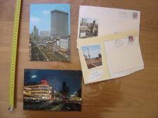 lot 2 cartes postales Postcard BERLIN Germany MERCEDES AUTOMOBILE