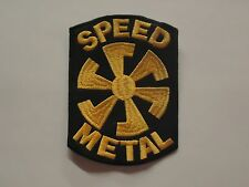 SPEED METAL EMBROIDERED PATCH