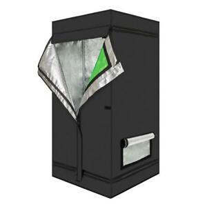 2021 Grow Tent Kit Dark Indoor Room Plant Box Mylar Hydroponics Bud 60x60x120cm