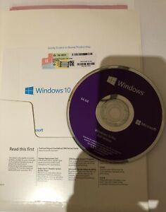 TheMicrosoft Windows10 Pro 64 Bit OEM Full Version+Product Key On DVD With COA
