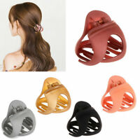 Fashion Matte Acrylic Ladies Hair Clips Claw Barrette Crab Clamp Hairpin Gifts n