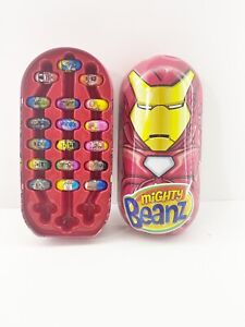 Mixed Lot of Mighty Beanz w/ IronMan Case