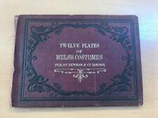 Twelve Plates Of Welsh Costumes
