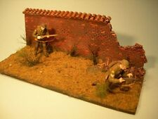 1/35 Scale  - European damaged wall (tile topped)