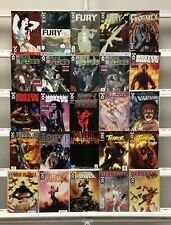 Fury War Machine  Deadpool Max Terror Inc Marvel Max  25 Lot Comic Book Comics
