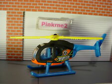 2018 FAST RESPONDERS Design ISLAND HOPPER☆black copter DISASTER☆LOOSE Hot Wheels