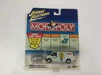 2001 Johnny Lightning Monopoly  Car & Token NIP ELECTRIC CO. UTILITY VAN
