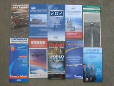 AIRPORT TIMETABLES(10):VIETNAM,CHINA,DUBAI,KENNEDY-NEWARK,LaGUARDIA,GREECE+++++.
