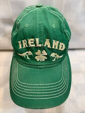 Ireland Shamrock Green St Patricks Day Fitted OSFM Adult Baseball Ball Cap Hat