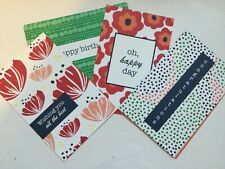 Stampin Up- Happiness Blooms Memories & More Card Pack