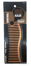 """Conair Copper Collection Easy Styling Detangle Smooth Control 7"""" Hair Comb"""