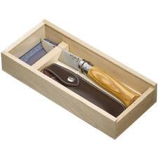 OPINEL N°8 OLIVIER COUTEAU AVEC ETUI PLUMIER COFFRET ÉCRIN IDEE CADEAU / 2985