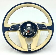 Bentley GT/GTC/ Bentayga Bespoke Steering Wheel 2018 On
