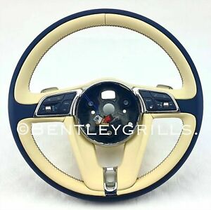 Bentley GT/GTC/ Bentayga Bespoke Steering Wheel 2018 On