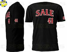 Boston Red Sox Chris Sale Jersey Tee T Shirt Men Size S-5XL