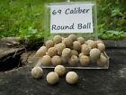 Old Rare Vintage Antique Civil War Relic 69 Cal Confederate Lead Ball Appomattox