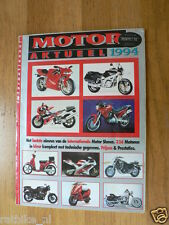 MOTOR AKTUEEL 1994 ALL MODELS DUTCH MARKET IN COLOUR MALAGUTI,MAGNI,MOTO GUZZI,B
