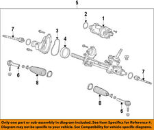 GM OEM Steering Gear-Inner Tie Rod End 22776531
