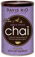 David Rio Orca Spice Chai 337g zuckerfrei in der Dose ohne Zucker