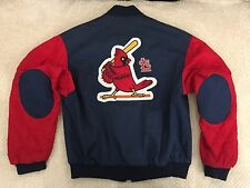 Vintage🔥 Swingster Made In USA St. Louis Cardinals Baseball Jacket Sz S Patch