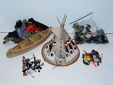 """BIG JIM 10"""" LOT OF CLOTHES & ACCESSORIES TEEPEE 1976 LONE RANGER ACTION MAN"""