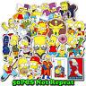 50pcs/lot The Simpsons Stickerbomb Laptop Car Luggage Skateboard Vinyl Stickers