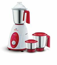 Bajaj Classic 750-Watt 230V Mixer Grinder with 3 Jars (White and Maroon)