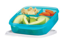 Tupperware Lunch It Divided Lunch Container Lunchit in Blue - NEW!