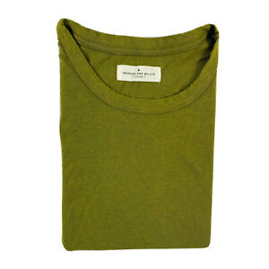 Imogene + Willie Mens Green Cotton Made In USA T Shirt XL