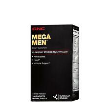 GNC Mega Men Timed- Release 180 Caplets (EX; 12/2021)