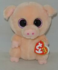 "2017 NEW VERSION!  Ty Beanie Boos PIGGLEY the Pig 6"" Different Color see pics"