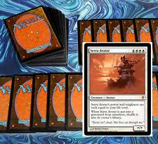 mtg WHITE LIFE GAIN DECK Magic the Gathering rare cards serra avatar