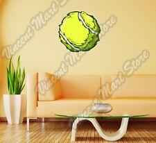 "Tennis Ball Racquet Sport Court Tie-Break Wall Sticker Room Interior Decor 22"""