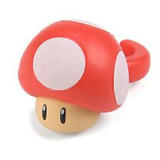 Super Mario Bros Red Super Mushroom Fashion Ring
