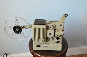 Cased Eumig P8 8mm Cine Film Projector - tested with film  and working