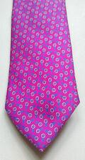 Cravatta seta rosa con bersagli A & D TIES Milano | TARGETS Pink Tie
