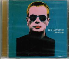 CD - NIK KERSHAW - 15 MINUTES # MINT / NEU IN OVP  #F19#