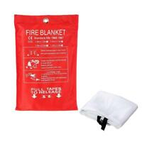 Fire Blanket 1  1M Fiber Glass House Caravan Campers Emergency Survival Y6E9