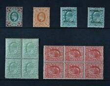 KEVII, a collection of fourteen stamps for identification, UM & MM condition.