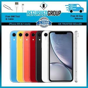 Apple iPhone XR Unlocked 64GB 128GB 256GB SIM Free - All Colours All Networks